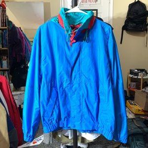 Blue Windbreaker Jacket
